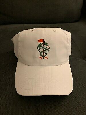 51bc505b149 Rare White MPCC Monterey Peninsula Country Club Golf Hat Members Only