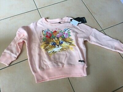 Rock Your Baby Cat's Meow Jumper Sz 3 Bnwt Rrp $59.95