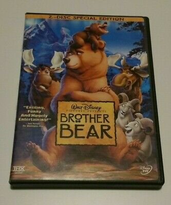 Brother Bear (DVD, 2004) - 2 Disc Special Edition