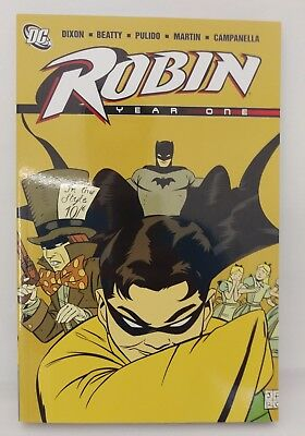 DC Robin Year One Paperback