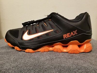 99278480f8 Nike Reax 8 TR Cross Training Sneaker - Black and Orange - Men's - Size 11