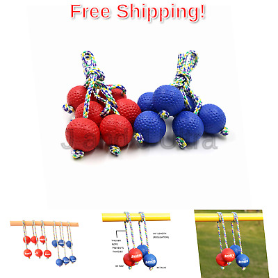 Sports Festival Ladder Toss Ball Replacement Set With Real Golf Bola B