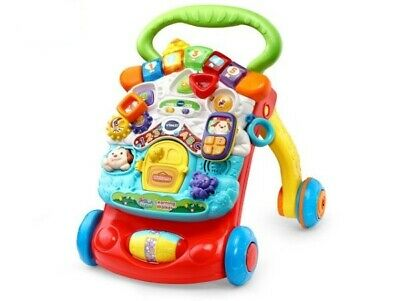 Vtech Baby First Steps Baby Walker Interactive Sounds Songs Numbers Toy Activity