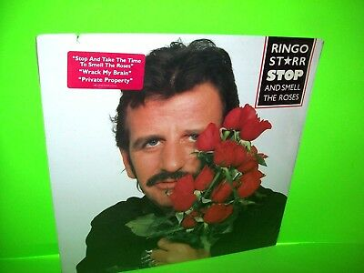 Ringo Starr LP Stop And Smell The Roses The Beatles SEALED Back Off Boogaloo