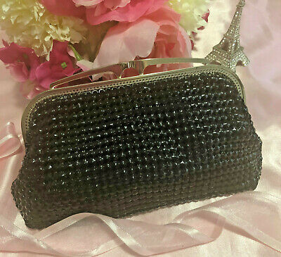 "Absolutely stunning ""Glomesh"" Black Purse! In fabulous condition! Don't miss out"