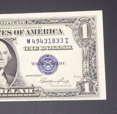 1935 One Dollar Silver Certificates Crisp, Clean Looks Gem Uncirculated