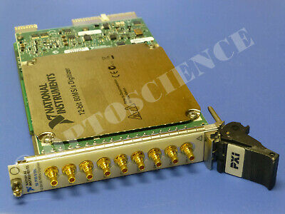National Instruments PXI-5105 Oscilloscope Card, NI DAQ Scope, 8ch 60MS/sec