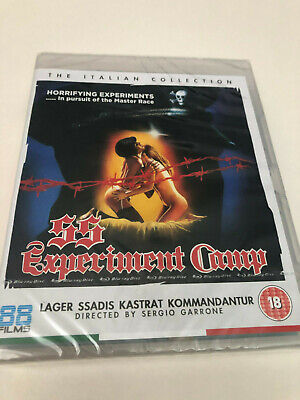 Ss Experiment Camp - Blu-Ray - Italian Collection 10 (88 Films) Sealed
