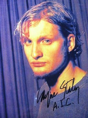 ALICE IN CHAINS LAYNE STALEY autographed SIGNED 8x10 RP photo