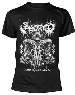 Aborted ' God Of Nothing' T-Shirt - Nuevo y Oficial