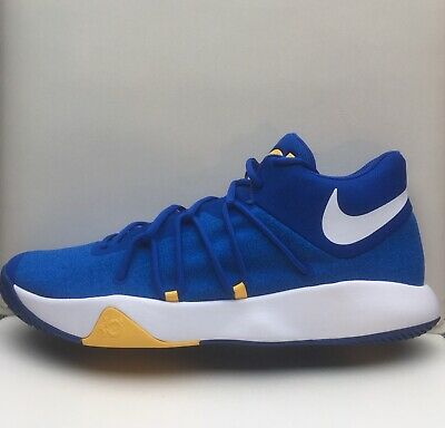 buy popular 6cee5 60131 Nike KD Trey 5 V Mid Shoes Blue Yellow Warriors Durant 897638-400  90 Mens