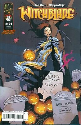 Witchblade #131 Marz Sejic Albany Comic Con Variant E Low Print Image NM/M 2009