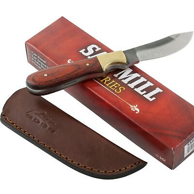 Sawmill Filework Pakkawood Skinner Fixed Blade Knife SM0025 Full Tang