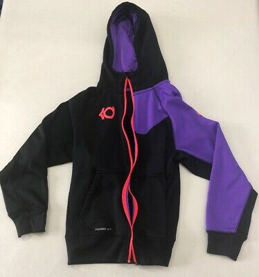 info for 6c2ee a02c0 TEEN YOUTH BOYS Nike KD Kevin Durant ThermaFit Hoodie Zip Up Jacket Size  Large