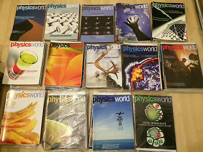 Physics World: set from October 2006 to March 2019