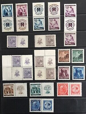 Germany: Bohemia & Moravia 1940-1941 issues MNH/MLH