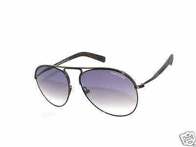 27a6be5e272d0 Tom Ford Cody Tf448 448 Antique Dark Brown horn purple Gradient 48Z  Sunglasses