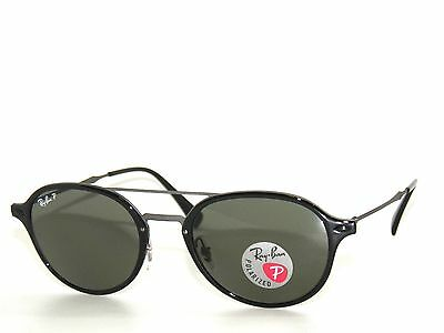 e68f745e4ad RAY BAN SunglaSSes RB4287 4287 BLACK  GREEN POLARIZED 601 9A Rayban