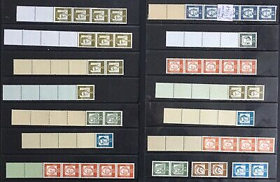 Germany (Bund) 1961 Famous Germans Coil Strips & Booklet issues MNH