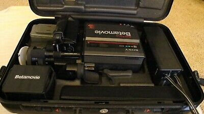 Sony Betamovie BMC-220 Camcorder AC-M110 Charger NP-11 Battery Complete Package