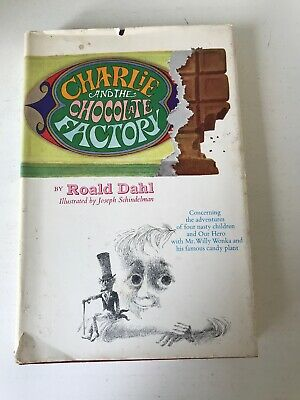 Charlie and the Chocolate Factory 1964 Roald Dahl 1st Edition w/ DJ!