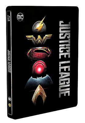 Blu-ray Justice League (Steelbook) - New - Exclusive Italian Import DC Comics