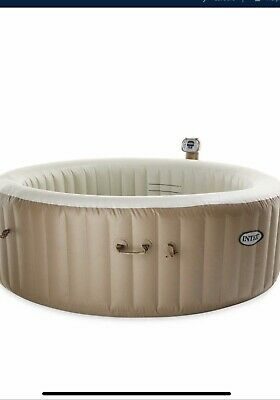 Intex Purespa 4 Person Spa New With Lights And Chemicals