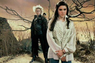 """Labyrinth N3240 Jim Henson and Jennifer Connelly 6/"""" x 4/"""" photo David Bowie"""