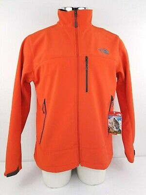 ad1360eb7 NWT MENS NORTH Face Apex Bionic Jacket Size Large Orange Small Blemish $150