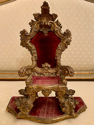 A German Rococo Miniature Armchair, Attributed to J.A.Nahl Potsdam, ca. 1740-50