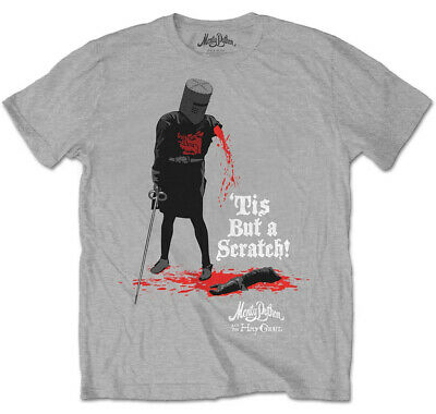 Monty Python 'Tis But A Scratch' T-Shirt - NEW & OFFICIAL