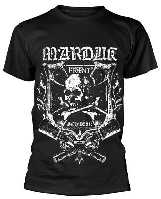 Marduk 'Frontschwein Shield' T-Shirt - NEW & OFFICIAL