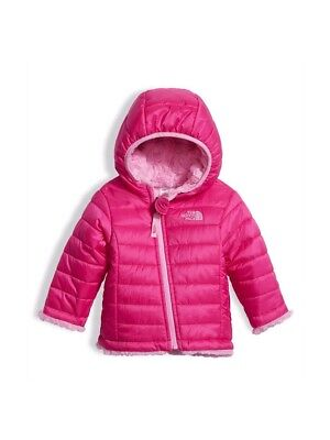 3dbfe401d NWT NORTH FACE Infant  Toddler Girls Reversible Thermoball Pink ...