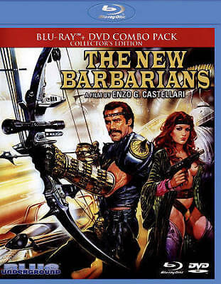 The New Barbarians - 1983 Blu-Ray / DVD, 2-Disc 2015