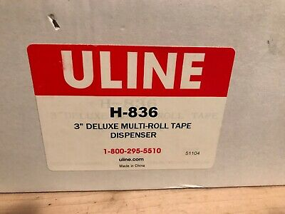 Uline Deluxe Multi- Roll Tape Dispenser H-836