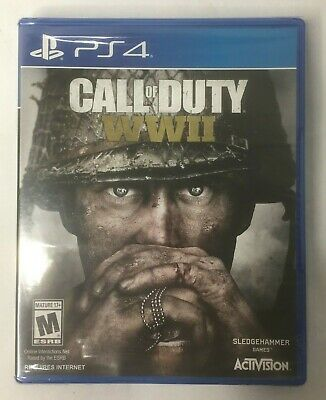 Call of Duty: WWII (Sony PlayStation 4, 2017) COD WW2 PS4 NEW SEALED
