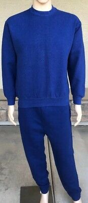 Vintage Munsingwear Crewneck Sweatshirt + Sweatpants Set USA Made Medium 50/50