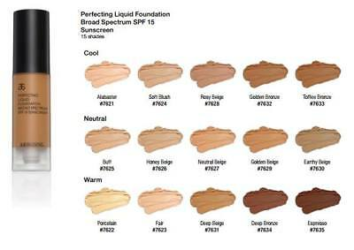 Arbonne Perfecting Liquid Foundation  SPF 15 BNWT