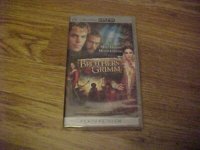 NEW Sony PSP UMD Movie The Brothers Grimm with Heath Ledger & Matt Damon