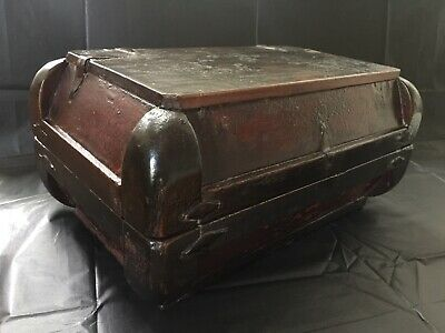 Antique Chinese Tea Caddy Chest / Japanese late 1800s early 1900s? $140 FreePost
