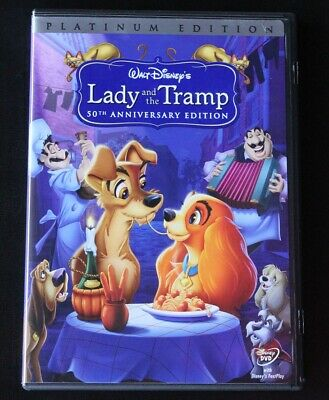 Lady and the Tramp DVD 2006 2-Disc Set Special Platinum Edition Children Disney