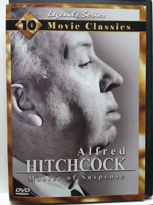 NEW - Alfred Hitchcock: Master of Suspense (DVD- 2001- 2-Disc Set)