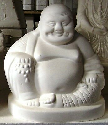 Ready to Paint Ceramic Bisque- Small sitting Buddha