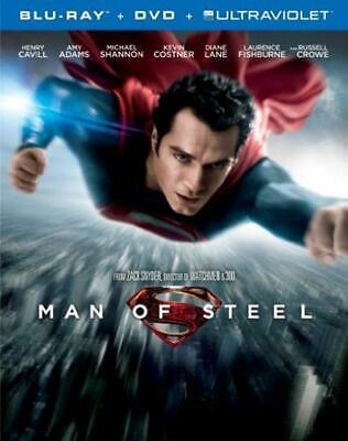 Man Of Steel (DVD & Blu-ray Combo ) -- UNLIMITED SHIPPING ONLY $5