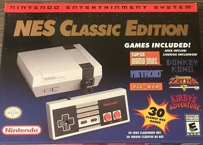 Nintendo 2018 NES Classic Edition - 820+ Games No Longer in Production