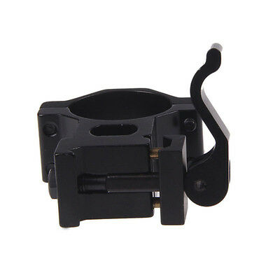 """1"""" 25.4/ 30 mm Ring 20mm Weaver Picatinny Rail QD Quick Release Scope Mount TO"""