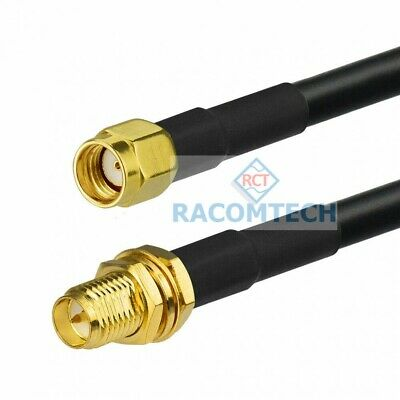 Low loss Coaxial Cable LMR195 / LL195 with RP- SMA (male) / RP-SMA (female)