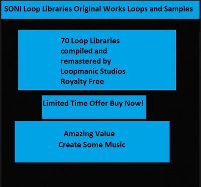78 Sony Acid Loops Remastered Compilation by Loopmaniac Studios Sonic Foundry
