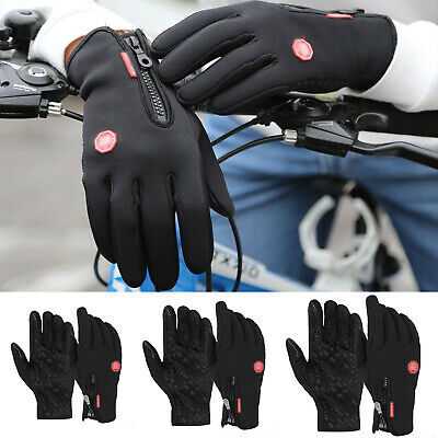 Cycling Touch Screen Gloves waterproof Outdoor Jogging Skiing Hiking Running NEW