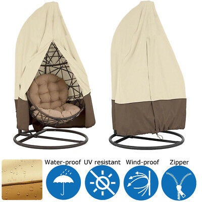 Hot Patio Swing Hanging Egg Chair Cover Waterproof Outdoor Furniture Rain Tool